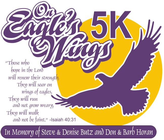 On Eagle's Wing 5K Logo